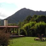 view of cerro punta from backyard